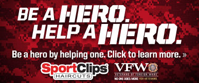 Sport Clips Haircuts of White Oak Crossing - Garner​ Help a Hero Campaign